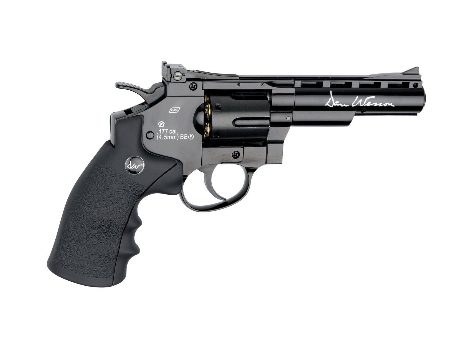 "Légpisztoly Dan Wesson 4"" cal. 4,5 mm revolver"