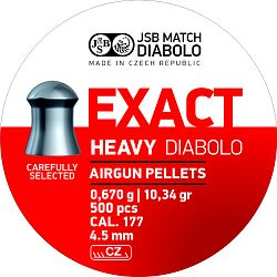 JSB Exact Heavy cal. 4,52mm 500db