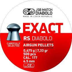 JSB Exact RS cal. 4,52mm 500db