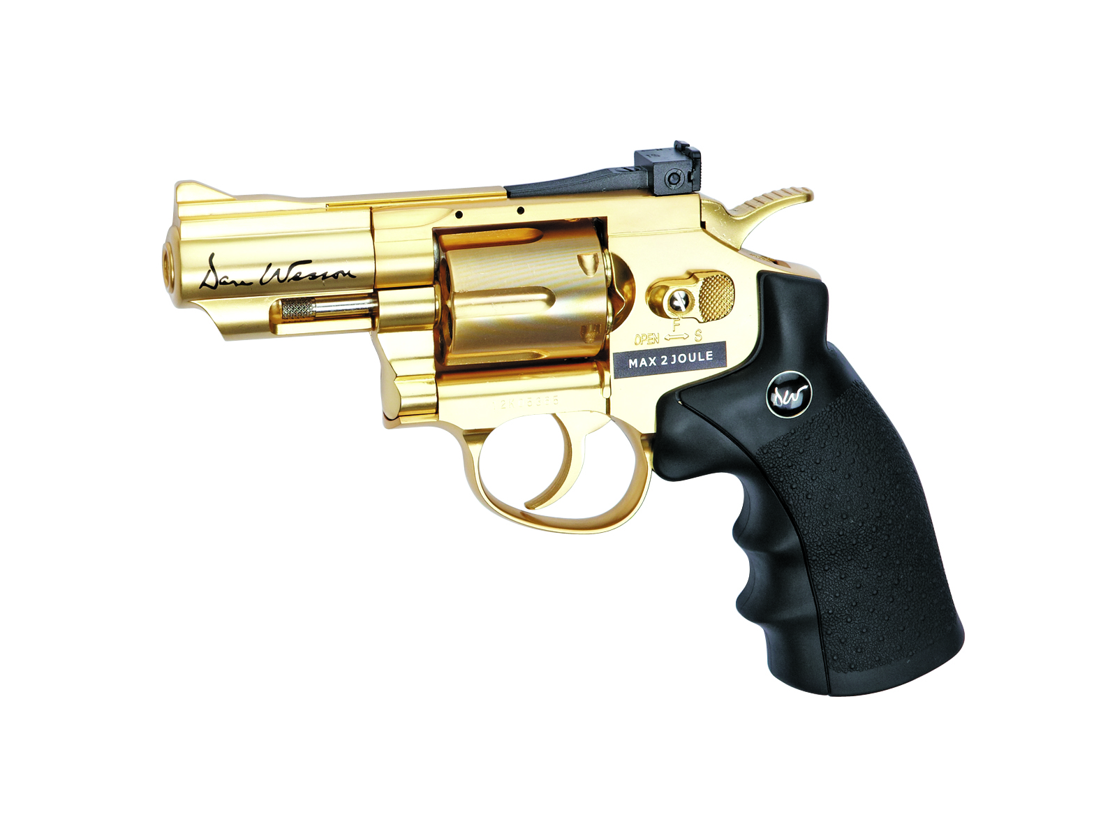 "Légpisztoly Dan Wesson 2,5"" GOLD cal. 4,5 mm"