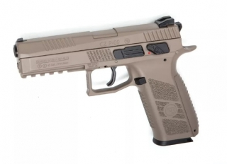 Légpisztoly CZ-75 P-09 Duty Blow Back FDE 4,5mm