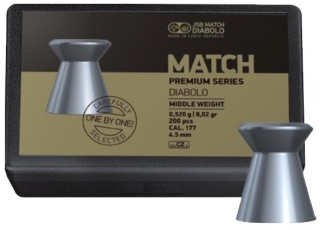 JSB Match Premium Middle 4,52mm 200db