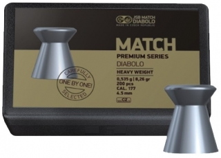 JSB Match Premium Heavy 4,52mm 200db