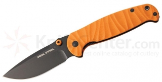Real Steel H6 SE II Orange Black Blade kés
