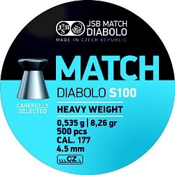 JSB Match S100 cal. 4,50mm