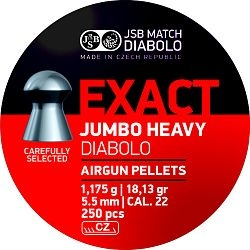 JSB Exact Jumbo Heavy cal. 5,52mm 250db