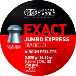 JSB Exact Jumbo Express cal. 5,52mm 250db