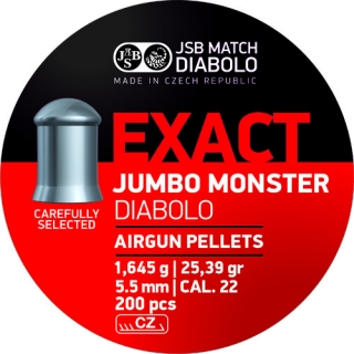 JSB Exact Jumbo Monster cal. 5,52mm
